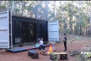 改造集装箱,变身营地小屋