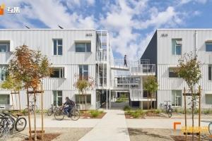沿海气候集装箱住宅区